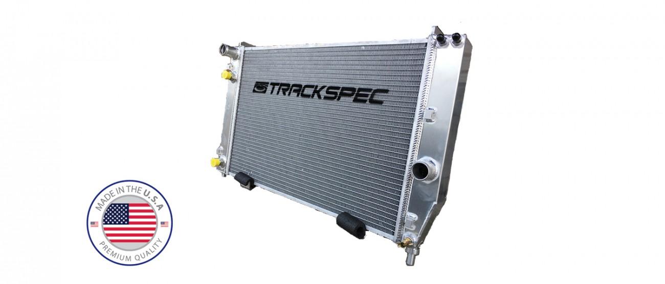 Trackspec SPEC CORVETTE Super Comp Radiator C5 Corvette (97-04)