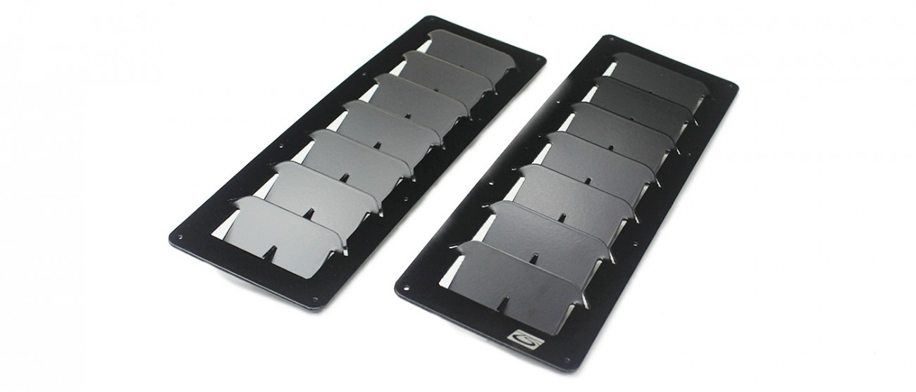Small Rectangular Universal Hood Louvers