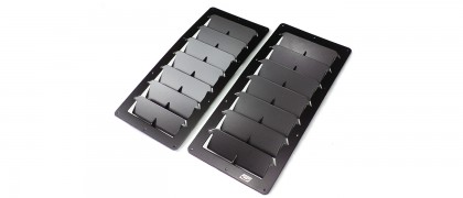 Large Rectangular Universal Hood Louvers