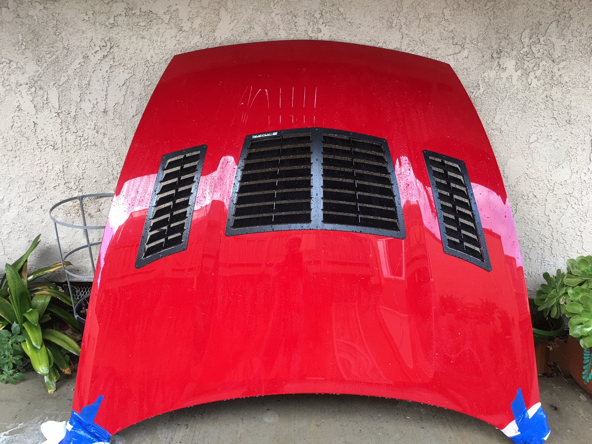 370z hood vent kit nissan side vents views