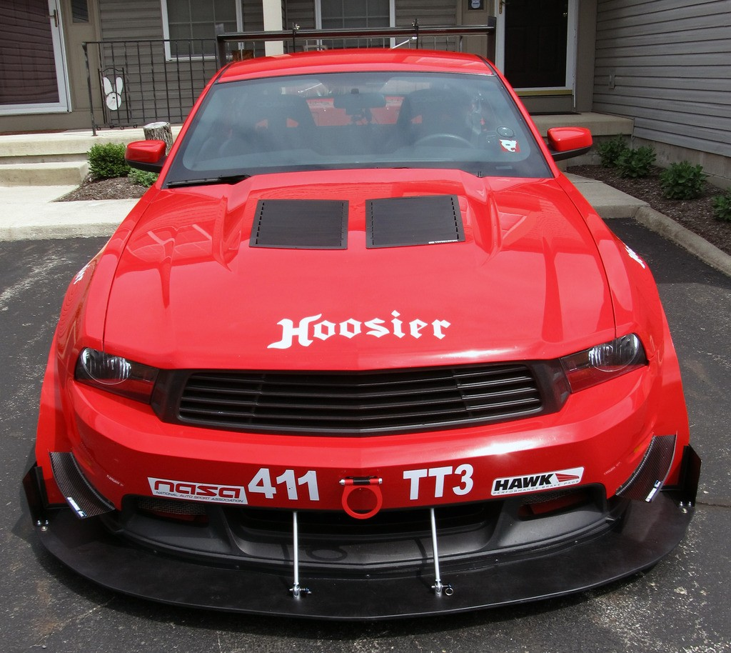 2010 2011 2012 mustang hood vents louvers