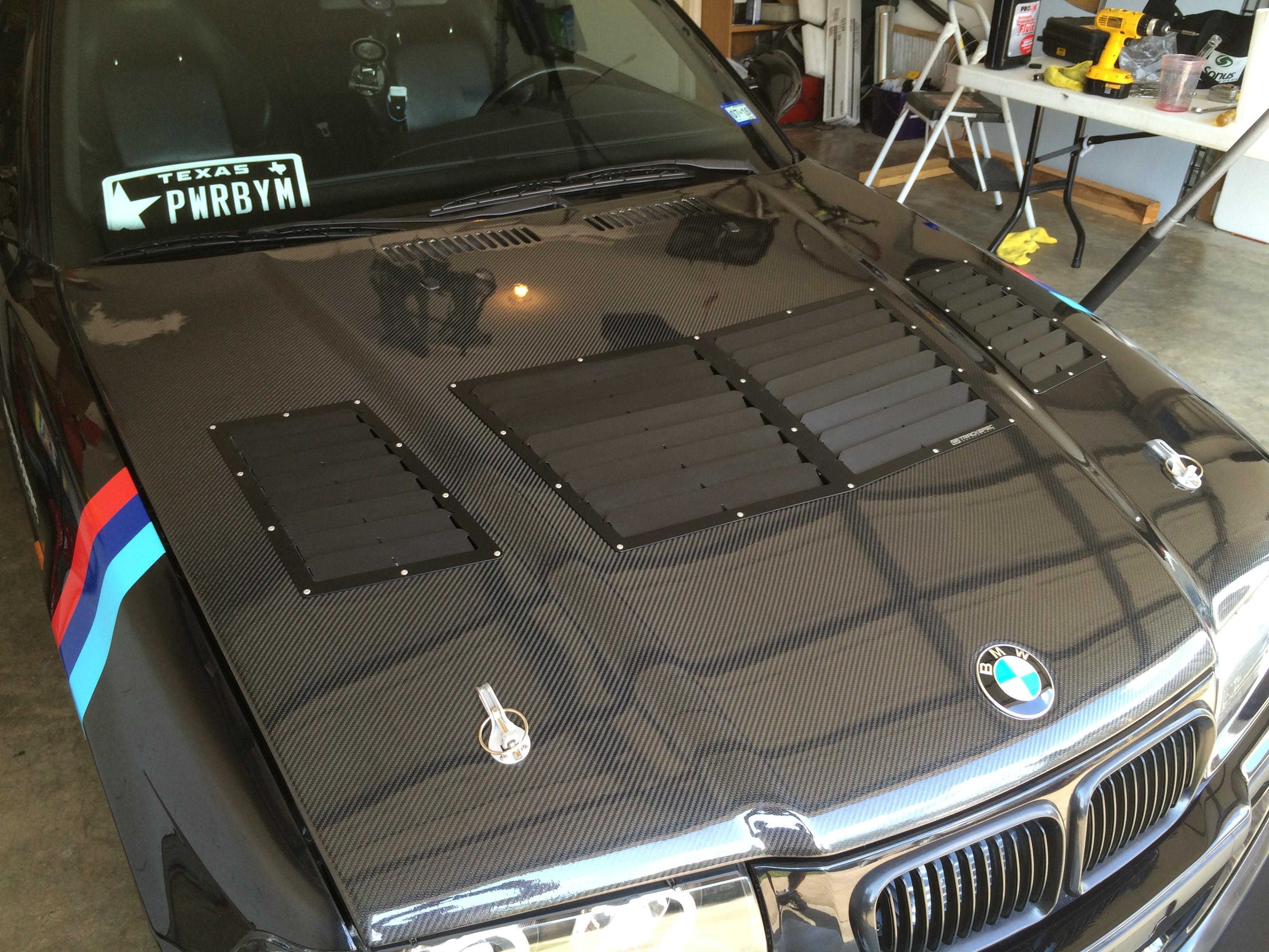 E36 M3 Hood Louver Vent Kit